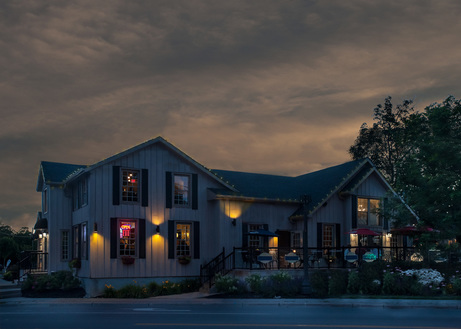 Commercial Real Estate Photography Twilight Exterior